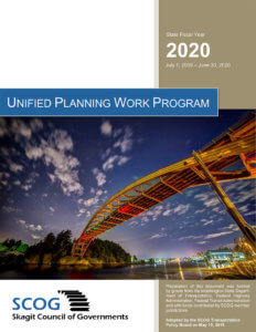 2020 Unified Planning Work Program Cover Page