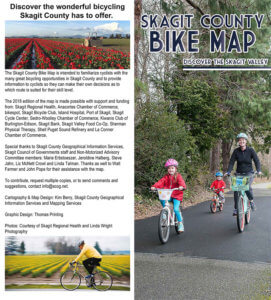 Skagit County Bike Map Cover